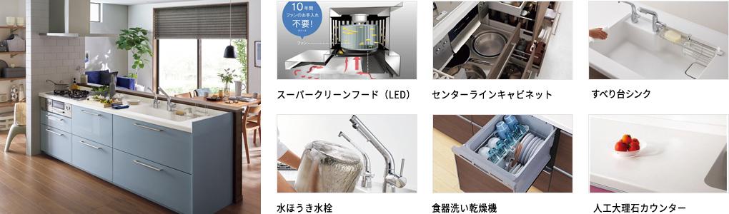 スーパークリーンフード(LED)など